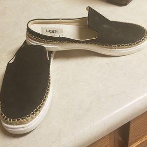 UGG Skip On Canvas Loaders Shoes 7.5